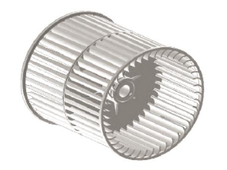 高效蜗壳和弧片型风叶